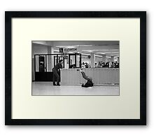 L.A Greyhound Terminal Framed Print