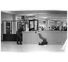 L.A Greyhound Terminal Poster