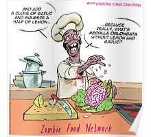 Zombie Food Network Poster