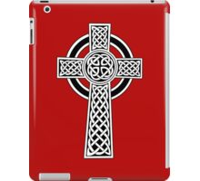 High Cross on red iPad Case/Skin
