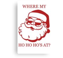 Pimp Santa Canvas Print