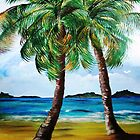 Lazy Twin Palms..........Two Person Party............ by WhiteDove Studio kj gordon