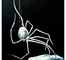 White Widow by JoanOfArt