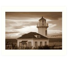 Old Lighthouse~Port Townsend, WA Art Print