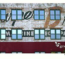 Urban Abstract;  Greenville, South Carolina Building by Skip Runge