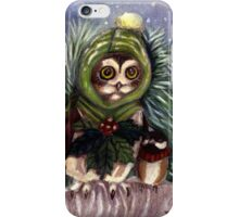 Saw Whet Owl and Friend iPhone Case/Skin