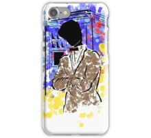 Doctor Who and TARDIS design iPhone Case/Skin