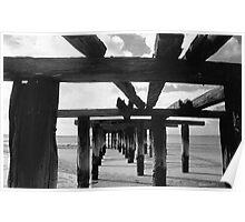 MacKenzie Jetty, Fraser Island Poster