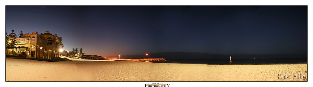 Cottesloe Night by Kirk  Hille
