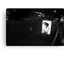 Urban Landscape # 2 Parramatta Rd Bus Stop Canvas Print