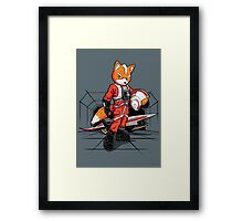 Rebel Fox Framed Print