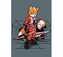 Rebel Fox Photographic Print