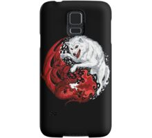 Ice and Fire Samsung Galaxy Case/Skin