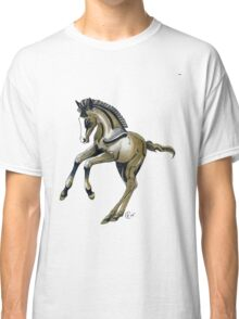 """""""Frolicking Ponies #3"""" Classic T-Shirt"""