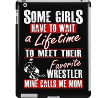 My Favorite Wrestler Calls Me Mom iPad Case/Skin