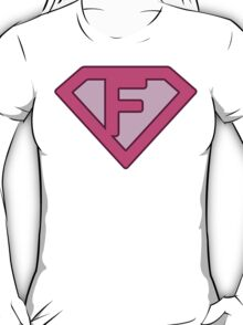 F letter T-Shirt
