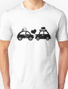 Cute Car Couple (lovers) T-Shirt
