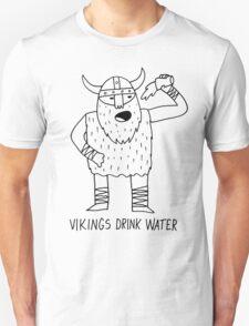 Vikings Drink Water T-Shirt