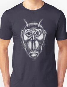 Cockroach humanoid (White ink) Unisex T-Shirt