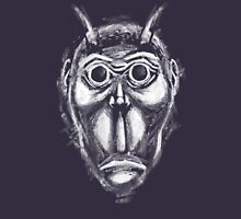 Cockroach humanoid (White ink) Unisex T-Shirt
