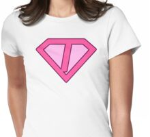 I letter Womens Fitted T-Shirt