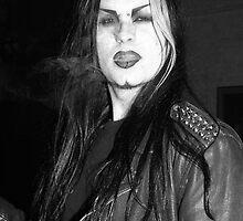 Smoking Goth by docophoto