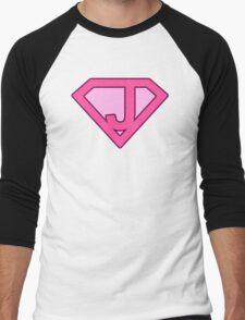 J letter Men's Baseball ¾ T-Shirt