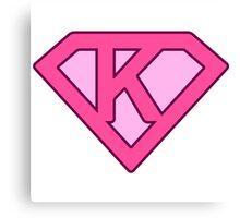 K letter Canvas Print