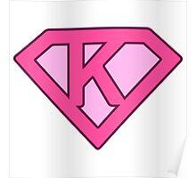 K letter Poster
