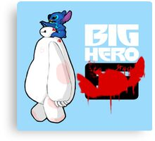 Big Hero Stitch Canvas Print