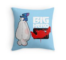 Big Hero Stitch Throw Pillow