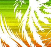 King of the Pride RASTA Sticker
