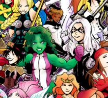 Earth's Mightest Women Sticker
