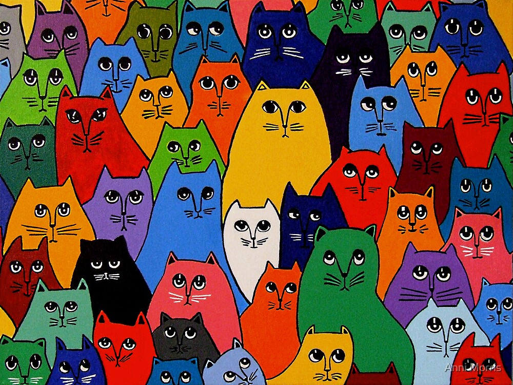 Cat Pack 2 by Anni Morris