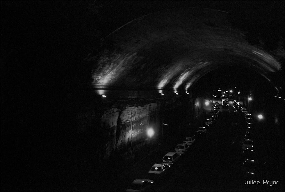 Urban Landscape #23 Rocks Tunnel by Juilee  Pryor