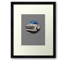 1966 Ford F100 Cartoon Framed Print