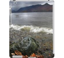 Derwent Water Shorebreak As Storm Approaches iPad Case/Skin