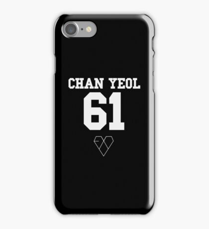 EXO JERSEY (CHANYEOL) PHONE CASE iPhone Case/Skin