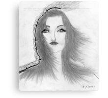 Wind Rush Canvas Print