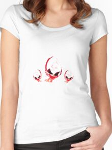 Evil Red Lady Women's Fitted Scoop T-Shirt
