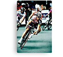 Elite Men's Criterium Race - Southbank Canvas Print