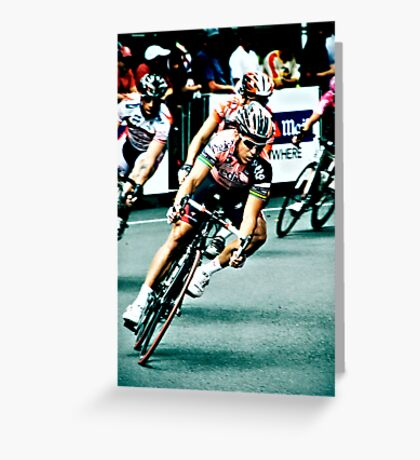 Elite Men's Criterium Race - Southbank Greeting Card