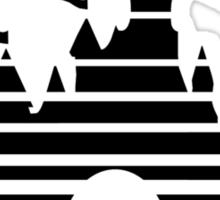Disnerd - Black Sticker