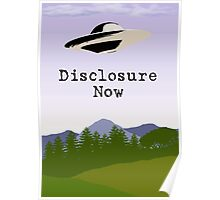 Disclosure Now  Poster
