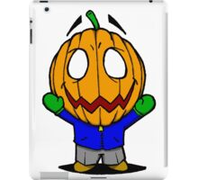 Halloweenies Pumpkin Jacko iPad Case/Skin
