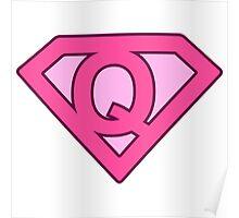 Q letter Poster