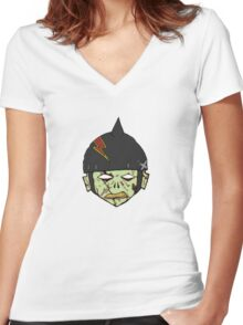 Damnation Army Women's Fitted V-Neck T-Shirt