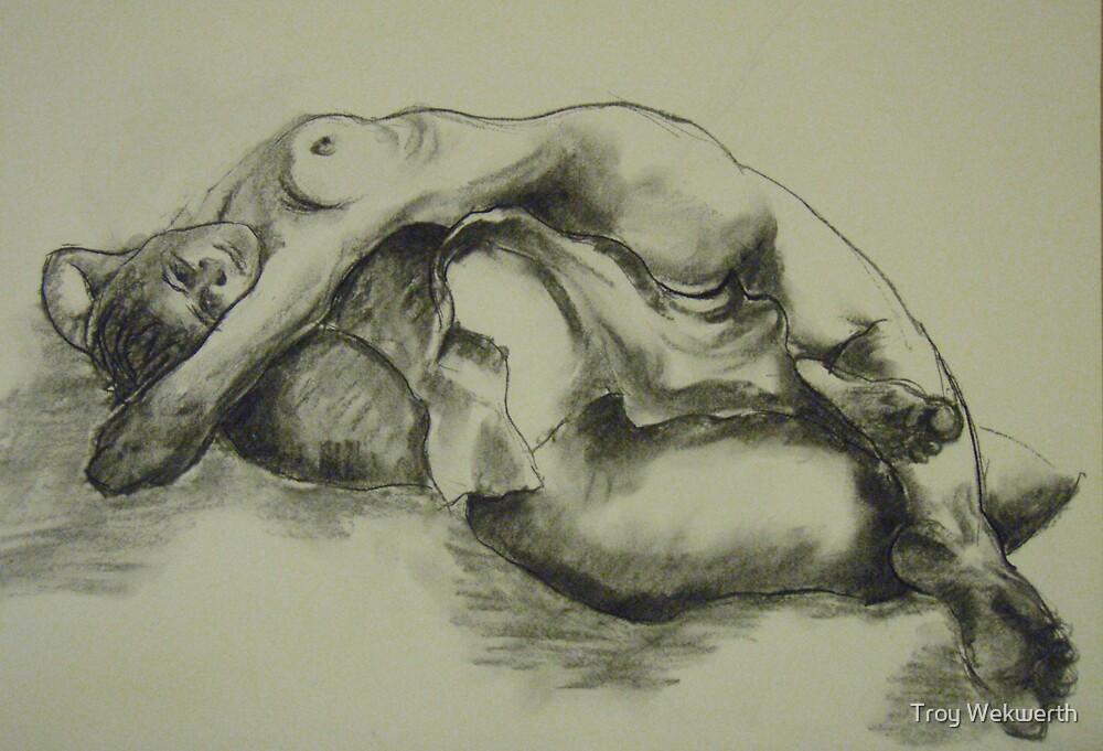 Mia - 20 min sketch by Troy Wekwerth