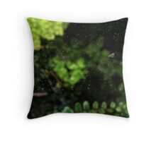 Rained out Throw Pillow