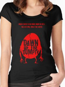 Dawn of the Dumpty Women's Fitted Scoop T-Shirt